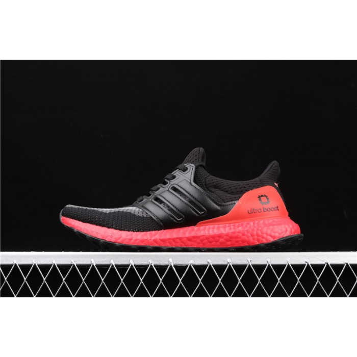 Women Adidas Ultra Boost 4.0 FW3724 Black Red Shoes