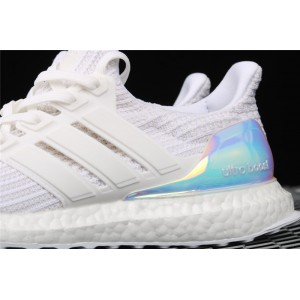Women Adidas Ultra Boost 4.0 Iridescent BY1756 Wite Shoes