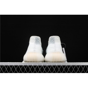 Women Adidas Yeezy Boost 350 V2 In Ice Blue White Shoes
