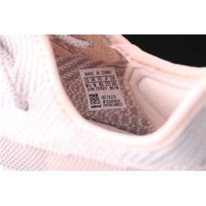 Women Adidas Yeezy Boost 350 V2 Synth In Gray Pink Shoes