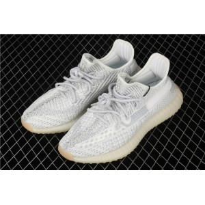 Women Adidas Yeezy Boost 350 V2 Tailgate In Gray White Shoes