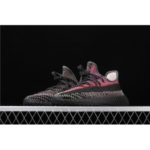 Women Adidas Yeezy Boost 350 V2 Yecheil In Red White Black Shoes