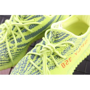 Women Adidas Yeezy Boost 350 V2 Real Basf In Yellow Shoes