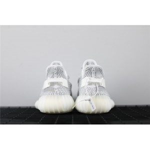 Women Adidas Yeezy Boost 350 V2 Real Basf Static In Light Gray Shoes